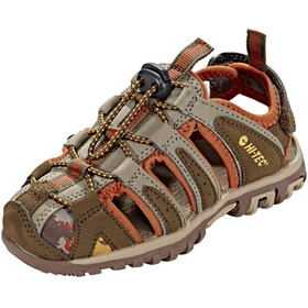 Hi-Tec Cove Sandals Kids boxed brown/cinnamon/core gold